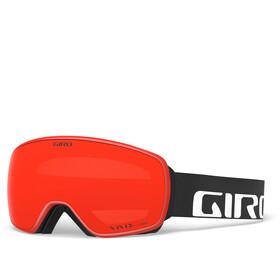 Giro Agent Masque Homme, black/vivid ember/vivid infrared
